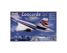 Revell 1:144 Concorde MODEL SET incl. lijm en verf