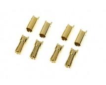 G-Force 5,5mm Goudconnector man+vrouw 4 paar