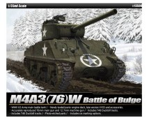 Academy 1:35 US Army M4A3 76mm Battle of Bulge