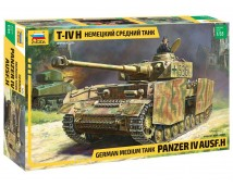 Zvezda 1:35 German Medium Tank Panzer IV Ausf. H