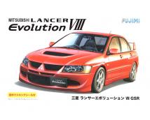 Fujimi 1:24 Mitsubishi Lancer EVO VIII GSR 2003