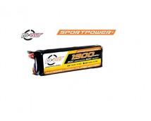 RC Plus Sport Power 11,1V 1900mAh LiPo 30C Deans Stekker