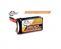 RC-Plus Sportpower 3S 11,1V 1300mAh 30C LiPo (Deans)