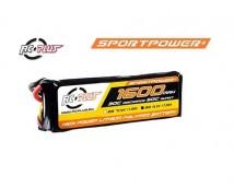 RC Plus Sport Power 7,4V 1600mAh 30C LiPo Deans Stekker