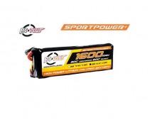 RC Plus Sport Power 11,1V 1600mAh 30C LiPo Deans Stekker