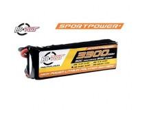 RC Plus Sportsline 14,8V 3300mAh 30c LiPo Deans Stekker