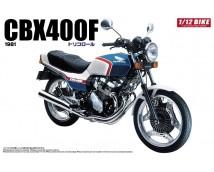 Aoshima 1:12 Honda CBX400F TriColor