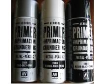 Vallejo Grey Primer 400 ml Spray Can