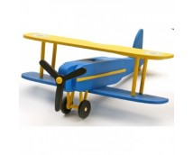Artesania My First Wooden Kit BI-PLANE Complete Set