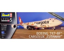 Revell 1:144  Boeing 747-8F Cargolux (Cutaway)