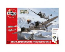 Airfix 1:72 Bristol Beaufighter TF.X + Focke Wulf Fw190A-8 MODEL SET