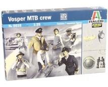 Italeri 1:35 Vosper MTB Crew