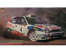 Hasegawa 1:24 Toyota Corolla WRC Castrol Portugal Rally 1999