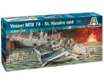 Italeri 1:35 Vosper Nazaire Raid MTN 74