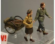 Master Box 1:35 Volkssturm, Ammo to the Frontline