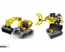 Tekno Bricks Graafmachine en Robot 2in1 Kit