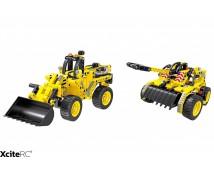 Tekno Bricks Shovel en Tank 2in1 Kit
