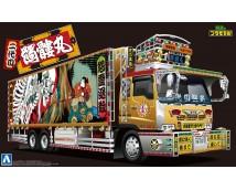 Aoshima 1:32 Truck Hino The Skull