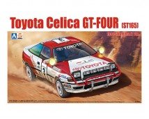 Aoshima BEEMAX 1:24 Toyota Celica GT-Four ST165 1990 Safari Rally Version