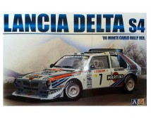 Aoshima BEEMAX Lancia Delta S4 1986 Rally Monte Carlo Winner 1:24