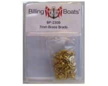 Billing Boats Messing Spijkertjes 7mm +/- 250st.
