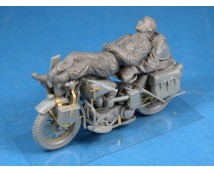 Mini Art 1:35 Rest On HD Motorcycle (WWII)