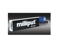 Milliput Zwart, 2 Componenten  Epoxy Putty