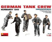 Mini Art 1:35 German Tank Crew Normandy 1944