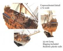Zvezda 1:72 Pirate Ship Black Swan