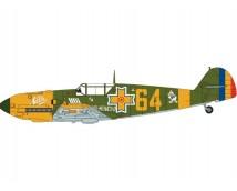 Airfix 1:24 Messerschmitt Bf109E-4 / E-3   A12002A