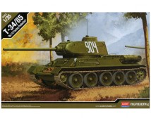 Academy 1:35 T-34/85 Tank No.112 Factory Production