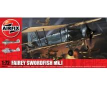 Airfix 1:72 Fairey Swordfish Mk1