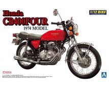 Aoshima 1:12 Honda CB400 Four 1974