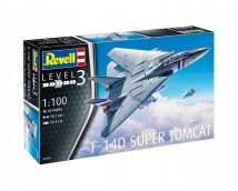 Revell 1:100 F-14D Super Tomcat MODEL SET