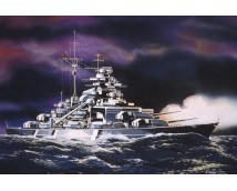 Revell 1:1200 Battleship Bismarck