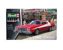 Revell 1:25 Ford Torino 1976 MODEL SET