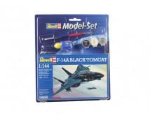 Revell 1:144 F-14A Black Tomcat MODEL SET
