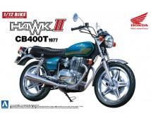 Aoshima 1:12 Honda Hawk II CB400T
