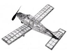Guillows Beechcraft Musketeer 50cm spanwijdte houten bouwkit