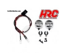 HRC LED Light Kit 1:10 with HELLA Covers 2pcs.