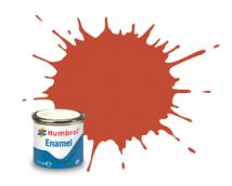 Humbrol Enamel 100 Red Brown Mat