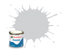 Humbrol Enamel 11 Silver Metallic