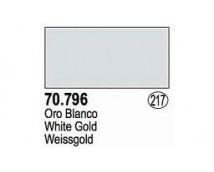 Vallejo Liquid Silver - 796  White gold