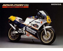 Aoshima 1:12 Honda NSR 250R SP with Custom Parts