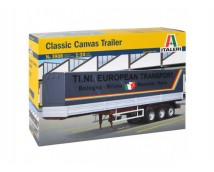 Italeri 1:24 Classic Canvas Trailer