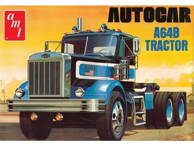 AMT 1:25 Autocar A64B Tractor Truck