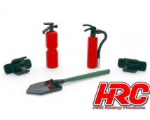 HRC 1:10 Scale Tools Set F2