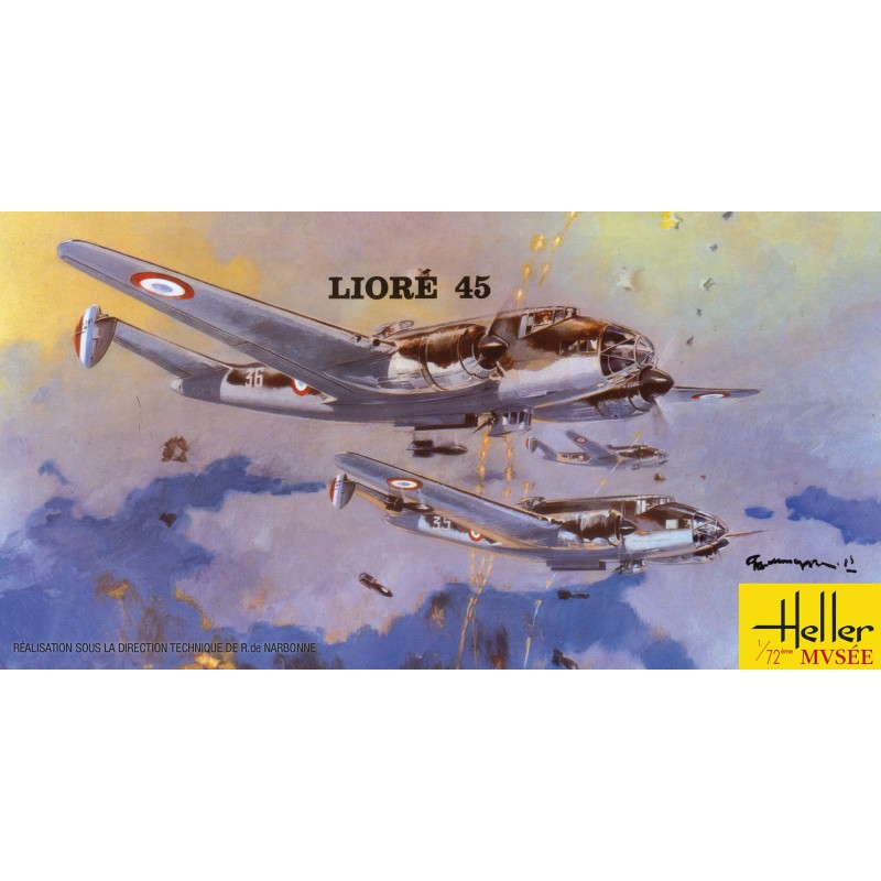 Heller 1:72 Liore and Olivier 45