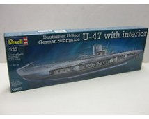 Revell 1:125 German Submarine U-47 With Interior