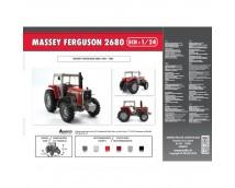 Heller 1:24 Massey Ferguson 2680
